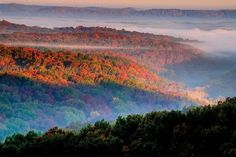 Indiana Trails: Hesitation Point; a gorgeous Brown County overlook draws both hikers and bikers.
