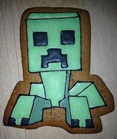 minecraft creeper cookie