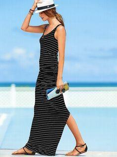 Victoria's Secret NEW! Tank Maxi Dress     $79.50