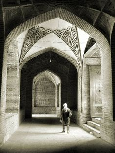 Shah Mosque Of Boroujerd Lorestan Iran Mosque, Iran, Barcelona Cathedral, Skyscraper, Minimalism, The Past, Abstract, Architecture, Amazing