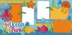 An Ocean Of Fun! Page Kit