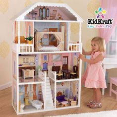 KidKraft 65023 - 32.5 in. Savannah Dollhouse
