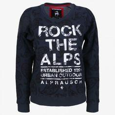Rockergirl dark navy sweatshirt