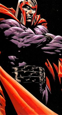 Magneto-my favorite character from the Ultimate Marvel U.. This incarnation of Mags was a frightning murderous manic, not nearly as idealistic as the Magneto of the main Marvel U... in the end he brought about the wave that completely altered the Ultimate comics...
