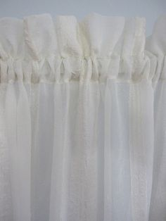 Sheer curtains curtains and white curtains on pinterest