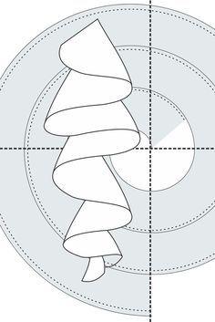 Cómo hacer volados, faralados redondos al sesgo circulares para vestidos de flamenca o quince años