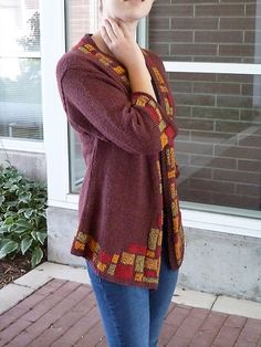 Ravelry: Par Avion: A Blended Intarsia Project pattern by Susan Newhall