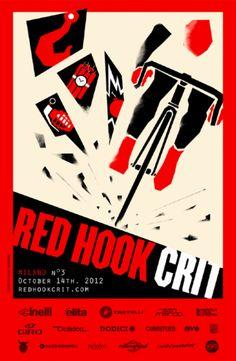 Red Hook Crit 2012 MILANO Alternate Poster