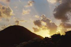 St. Martin sunset, Caribbean