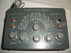 Vintage Heathkit R F Signal Generator Model SG 8   eBay