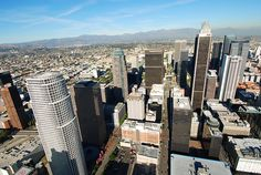 Downtown Los Angeles Helicopter Tours - LA Aerial Views - Pictures |