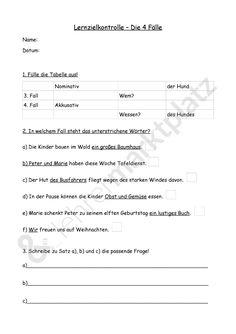 Lernzielkontrolle 4 Fälle - Seite 1