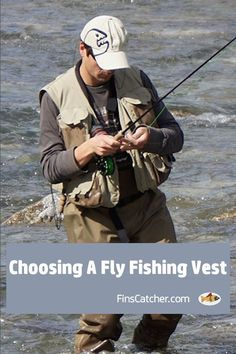 You have a lot of choices when looking at fly fishing vests, so you will want to choose carefully. It's important that your vest meets your needs, so consider your options before settling on one.