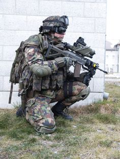 The Swiss High-Tech Soldiers of the Future