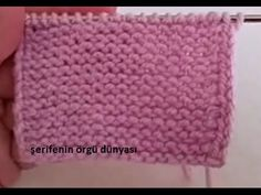 How to Knit the Edge of Haroşa Weave Flat? Knitting Videos, Knitting Stitches, Baby Knitting, Knitting Patterns, Crochet Slipper Pattern, Crochet Slippers, Crochet Hats, Freeform Crochet, Irish Crochet