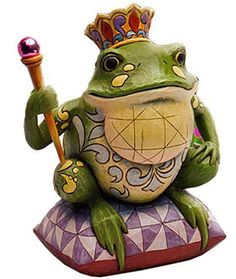 Frog Prince Statue Figurine...must be the twin brother of the other one!