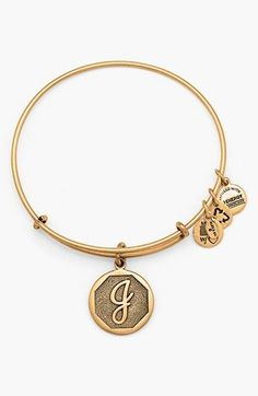 Initial bangle - would be cute to get one for each of my kids names!