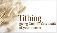 8 Reasons Why We Need to Tithe
