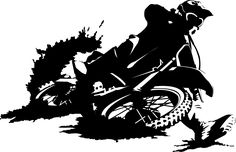 Motocross Wall Sticker