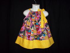 OMG! I'm so getting Harlow this -Batman dress Super hero girl power outfit Supergirl by GinaBellas1, $29.50