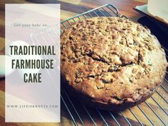 A recipe for a Traditional, British Farmhouse Cake. Perfect if you're not a chocolate fan as a sweet treat for easter! Lightly spiced with cinnamon and packed full of raisins. Wash it down with a warm cup of tea and you have yourself the perfect British afternoon tea.