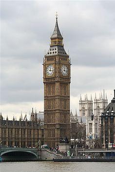 Big Ben de Londres and the Houses of Parliament