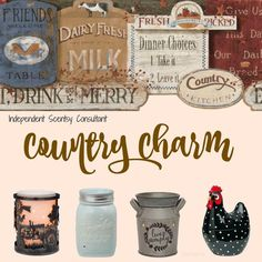 my favorite scentsy warmers are the country ones! #scentsy #countrygirl #country