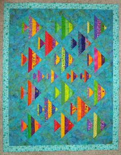 Wayne's Quilts: Fine Finned Friends