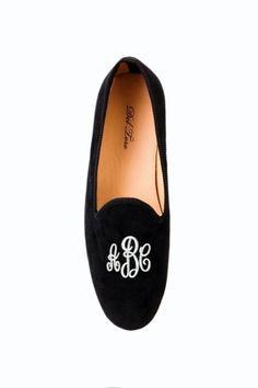 monogram del toro smoking slipper