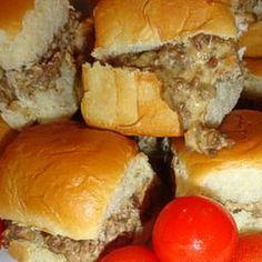 Combine 1lb hamburger 1lb sausage and Velveeta...great on slider buns or the sweet Hawaiian ones!! Perfect for Football Season