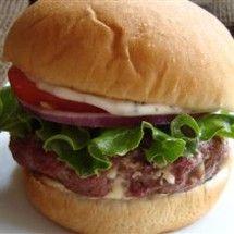 Burgers: Blue Cheese Burgers