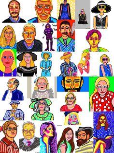 ilustraciones de retratos!!