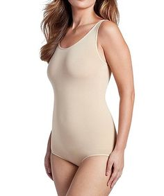 7a983effbf23c F.I.X. Shapewear by WunderWear Nude Seamless Slimming Bodysuit - Women    Plus