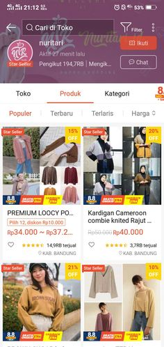 Best Online Clothing Stores, Online Shopping Sites, Online Shopping Clothes, Online Shop Baju, Casual Hijab Outfit, Korean Girl Fashion, Shops, Skin Care, Style
