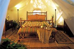 love the interior of this tent