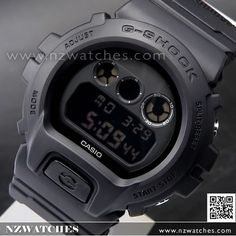 Casio G-Shock Military Black Cordura Nylon Band Sport Watch DW-6900BBN-1 0fbd02b548