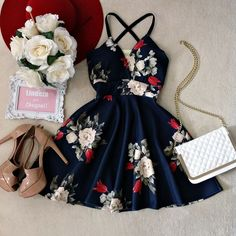 Short Dresses in Fashion Teen Fashion Outfits, Classy Outfits, Cute Fashion, Beautiful Outfits, Trendy Outfits, Cool Outfits, Summer Outfits, Fashion Ideas, Hoco Dresses