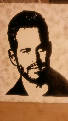 PAUL WALKER Paul Walker, Stencil Art, Stencils, Airbrush, Portraits, Hollywood, Pictures, Movies, Drawings