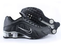 Chaussures Nike Shox R4 Noir/ Argent [nike_12267] - €45.97 : Nike Chaussure Pas Cher,Nike Blazer and Timerland  http://www.facebook.com/pages/Chaussures-nike-originaux/376807589058057