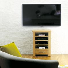 shop for home entertainment cabinets from baumhaus aston solid oak collection at space and shape