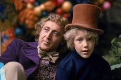 Willy Wonka and Chocolate Factory.  Gene Wilder & Peter Ostrum