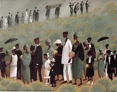 """The Funeral Procession"" by T. Coleman:"