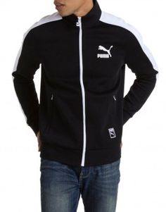 PUMA T7 Track Jacket - Black (571519-01)