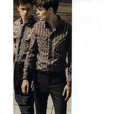 AnOther Man Style Guide Editorial Casual Shirts: If you want to have..., Fall/Winter 2008 Shot #5 - MyFDB