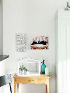 La Bici Azul: Blog de decoración, tendencias, DIY, recetas y arte: Casas de Bloggers: Marlène de Oui Oui Oui Studio