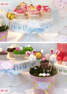 {Sweet Table} Oster Candy Bar + Oster Hasen Cake Pops Tutorial | niner bakes