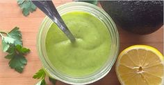 Most commercial salad dressing brands contain canola oil, soybean oil, corn syrup, sugar, preservatives and stabilizers. These ingredients turn into an invisible danger when used in salad dressings because people most assume they are eating something healthy. Avoid store-bought salad dressings; you can make your own healthy homemade dressing. A Super Healthy Avocado Salad Dressing …