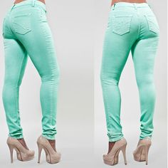 PZI Mint Skinny Jeans! I have to have them!