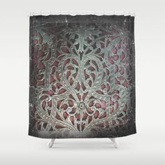 by xkbeth on Etsy Castle Decor, Curtains, Shower Curtain, Tapestry, Accent Decor, Printed Shower Curtain, Apartment Decor, Etsy, Vintage Curtains