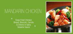 Royal Chopstix | Chinese Food Restaurant | Plano, Richardson, Farmers Branch - Home Mandarin Chicken, Chinese Food Restaurant, Fried Chicken Breast, Spicy Sauce, Farmers, Broccoli, Onion, Carrots, Texas